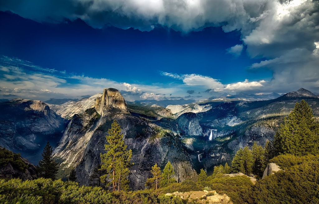 RV campgrounds in Yosemite